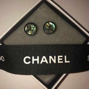 Chanel Black Pearl Earrings - Never Worn